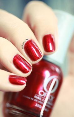 Orly Torrid ... Pretty for the holiday season!