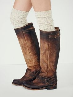 Freebird by Steven Redbank Tall Boot at Free People Clothing Boutique Cute Shoes, Me Too Shoes, Fab Shoes, Gold Shoes, Cowgirl Boots, Riding Boots, Western Boots, Botas Boho, Tall Brown Boots