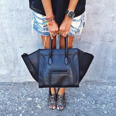 Celine Luggage Phantom Black | Bags | Pinterest ☺  ✿ Hand Luggage Bag, Best Carry On Luggage, Celine Luggage, Wedge Mules, Mules Shoes, Calvin Klein Shoes, Calvin Klein Black, Celine Handbags, Hermes Bags