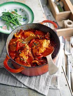 Baskische Kip recept | Smulweb.nl