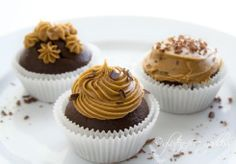 gluten free dairy free soy free chocolate cupcakes with coffee frosting