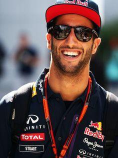 Daniel Ricciardo of Perth,Australia - Red Bull Racing Ricciardo F1, Daniel Ricciardo, Red Bull Racing, F1 Racing, F1 Motorsport, F1 Drivers, World Of Sports, 3 In One, F 1