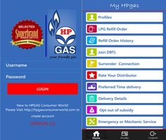 Downloadable Forms for HP Gas Connection