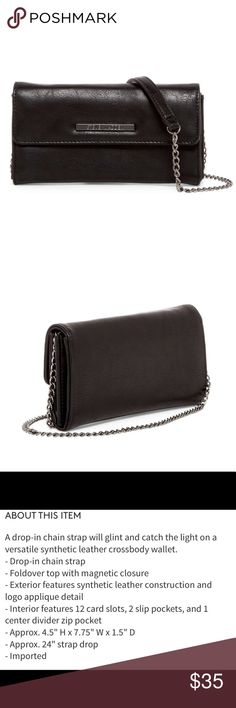 Steve Madden Crossbody Wallet NWT Steve Madden Bags Wallets