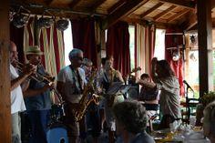 Jon Bratoeff leads the band @Dordogne Jazz Summer School 2013