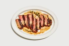 This steakhouse-worthy entree is less of a recipe than a method—it not only works with all cuts of steak, but pork chops and chicken thighs, too.