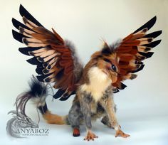 Trygo the Gryphon Room Guardian by AnyaBoz on deviantART