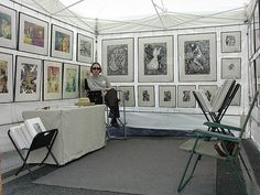 Art Festival Booths - this is the one for sean-paul