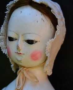 Reproduction Antique Queen Anne Dolls and Izannah Walker Dolls