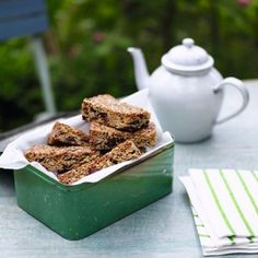 Muesli Bars - Breakfast Recipe Ideas