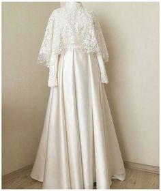 Muslim Wedding Gown, Muslimah Wedding Dress, Muslim Wedding Dresses, Bridal Dresses, Wedding Gowns, Muslim Dress, Dress Brokat Muslim, Hijab Gown, Hijab Dress Party
