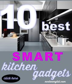 10 Kitchen Appliances are on the top of my list. SMART technology has entered the kitchen and make cooking fast, fun, & easy. #technology #kitchen #cooking #SMART #appliances #gadgets Smart Kitchen, Kitchen Hacks, Kitchen Gadgets, Kitchen Appliances, Boho Kitchen, Cooking Gadgets, Kitchen Trends, Kitchen Art, Kitchen Stuff