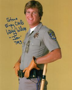 Larry Wilcox (CHiPs)(Signed at Chiller Theatre 4-23-16)