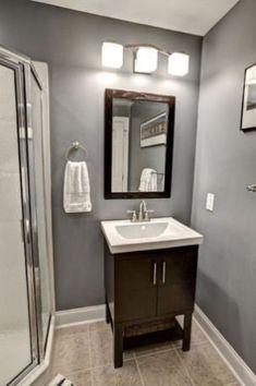 8446378ab Amazing Bathroom Design Ideas For Small Space 22  #bathroomdesignsforsmallspaces Pisos, Techo De Color,