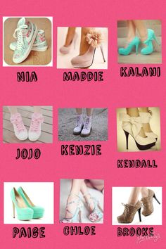 Comment!! I like Kendall's, JoJo's, Chloe's, and Kenzie's