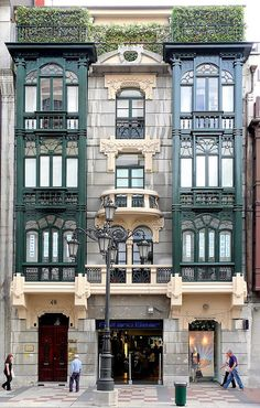 Oviedo, Asturias by Arnim Schulz, via Flickr