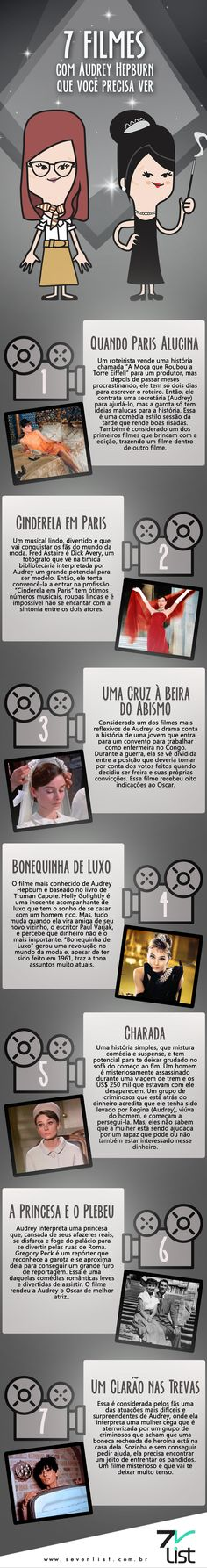 7 Filmes Com Audrey Hepburn Que Você Precisa Ver ❣