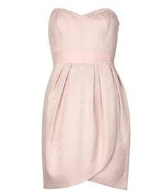 Robe bustier jacquard BARE PINK by Manoukian - 119,00 €