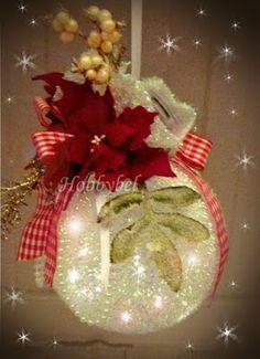 HOBBYBEL blog & youtube Christmas Wreaths, Christmas Bulbs, Tutorial, Holiday Decor, Youtube, Blog, Home Decor, Decoration Home, Christmas Light Bulbs