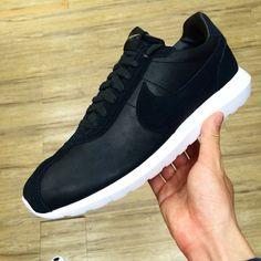 quality design e753f 5ff24 Nike Roshe LD-1000 Premium QS Leather Black Mens Trainers ATMOS 842564-001
