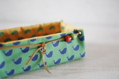 Fabric Basket Tutorial Fabric Storage Box. DIY tutorial in pictures.