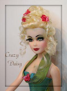 custom Daw doll by Crazy Daisy