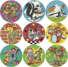 Looney Tunes - Tazo Mania, 1997 - 100 tazos (80 tazos + 20 master tazos)