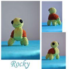 Rocky, želva něžná Rocky, tender turtle