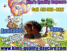 Sample Childcare Business Flyer  Custom Made Childcare Business