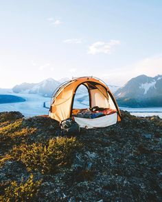 "27.5k Likes, 200 Comments - Alex Strohl (@alexstrohl) on Instagram: ""Backcountry lodging"""