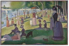 Seraut - A Sunday Afternoon on the Island of la Grande Jatte