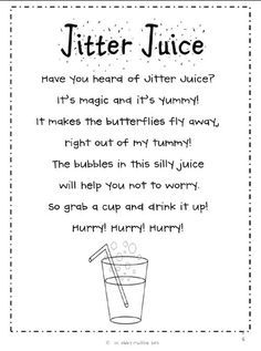 math worksheet : 1000 ideas about jitter juice on pinterest first day ...