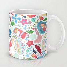 Ushopping Fun Cup - Ponyo Pattern - Mugs by Ushopping: Amazon.fr: Cuisine & Maison