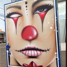 Arte na rua #Grafite by Decy - Street Art Goiânia