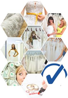 Step-by-step we will help you find your dream wedding dress.