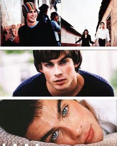 A very young Ian Somerhalder. Haha he's a cutie. Chris Wood Vampire Diaries, Vampire Diaries Damon, Vampire Diaries The Originals, Ian Somerhalder Young, Ian Somerholder, Pretty Men, Pretty Boys, Cute Boys, Daimon Salvatore