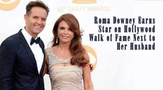 Roma Downey Earns Star on Hollywood Walk of Fame Next to Her Husband The Bible Miniseries, Mark Burnett, Roma Downey, Touched By An Angel, Mackenzie Foy, The Little Prince, Shark Tank, Hollywood Walk Of Fame, Executive Producer
