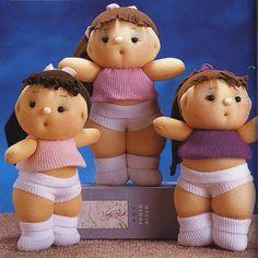 Barbaridade: Vamos malhar com as bonecas de meia?