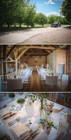 An English Country Garden Themed Wedding At Bury Court Barn Hampshire
