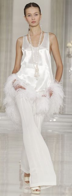 Ralph Lauren:  {lovely for the brides mother or mother-in-law}