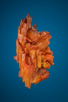Vanadinite - Old Yuma Mine, Pima County, Arizona, USA Size: 5.9 cm