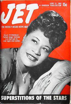 Ella Fitzgerald - Jet Magazine, June 11, 1953 by vieilles_annonces, via Flickr