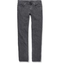 Saint LaurentSlim-Fit 17cm Hem Stretch-Denim Jeans