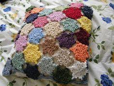 cute crochet cushion