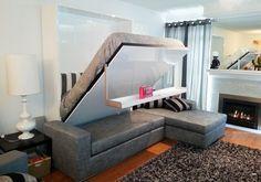Murphy bed/sofa combo
