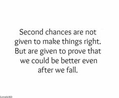 Quotes about giving second chances in relationships