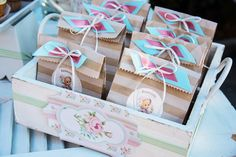 Favor Bags with sweets by happyvanto