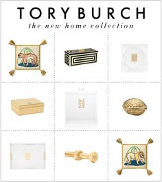 New Obsession! The Tory Burch Home Collection xoSocialite White Box, Black White, Barbie Dream House, Chinoiserie Chic, New Theme, Inspiration Boards, Home Collections, Tablescapes, Gift Guide
