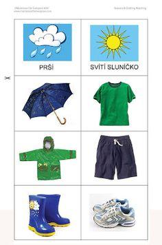 Álbumes web de Picasa Preschool Learning Activities, Fun Activities For Kids, Kindergarten Worksheets, Montessori Materials, Teaching Materials, Childhood Education, Kids Education, Clothes Worksheet, Weather For Kids