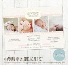 Newborn MiniSitzungen Fotografie Marketing von PaperLarkDesigns